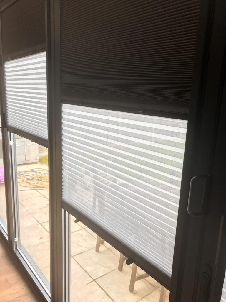 Partial black out blinds
