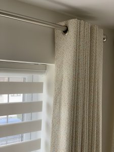 Eyelet Curtains & Blind