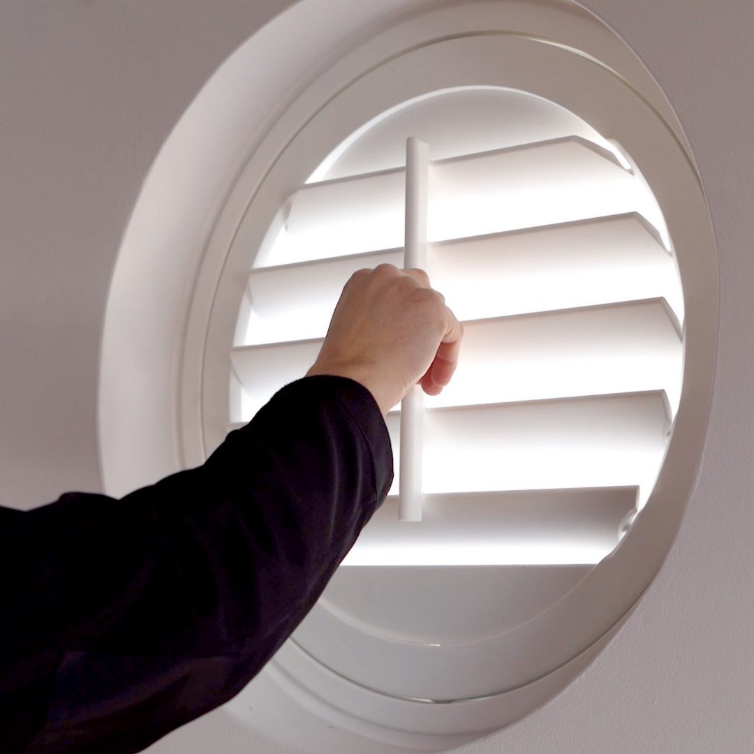 Shutters to fit any shape window